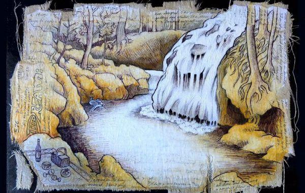 La Finca Waterfall