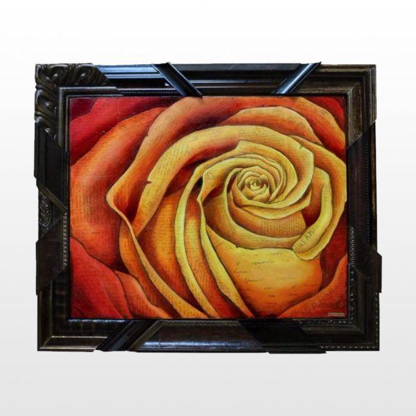 Spiral Rose, Fire