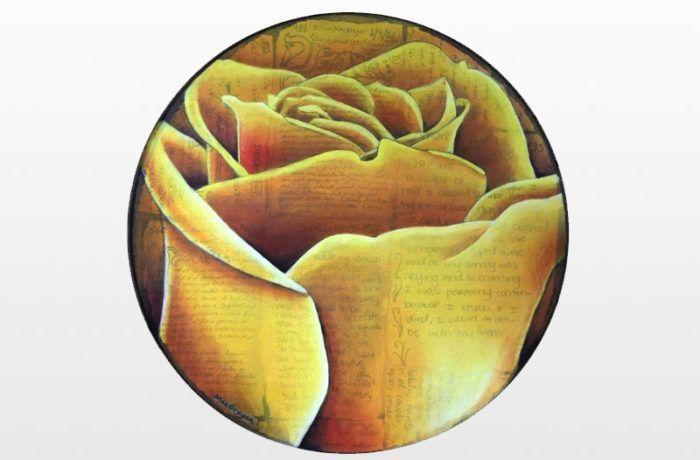 Spiral Round Rose (Gold)