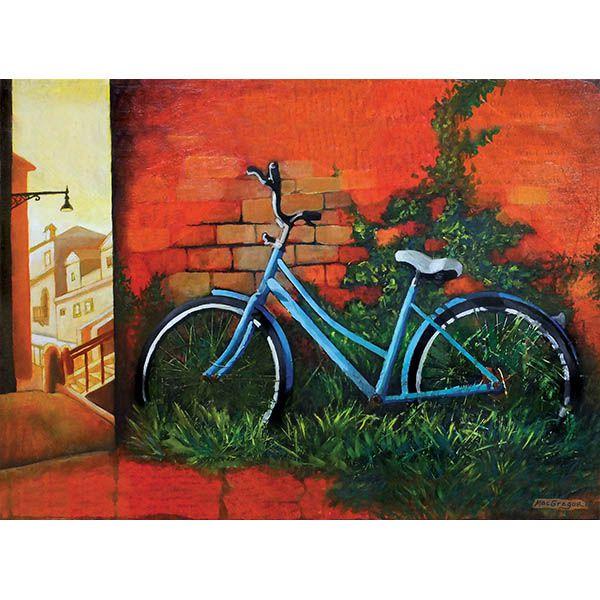 Blue Bike in Venice